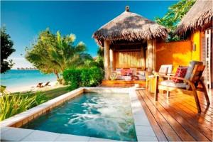 Liluliku Deluxe Strandbungalow -Fiji Hotels